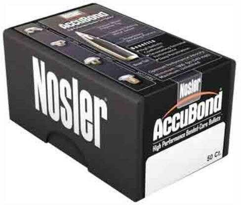 Nosler 257 Caliber 110 Grains Spitzer Accubond Per 50 Md: 53742 Bullets