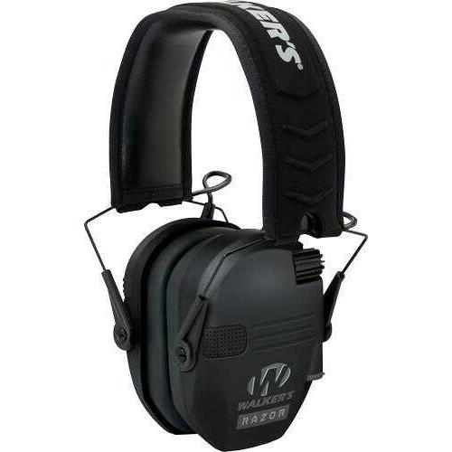 Walkers Game Ear GWPRSEM Razor Slim Shooter Folding Earmuff 23 dB Black
