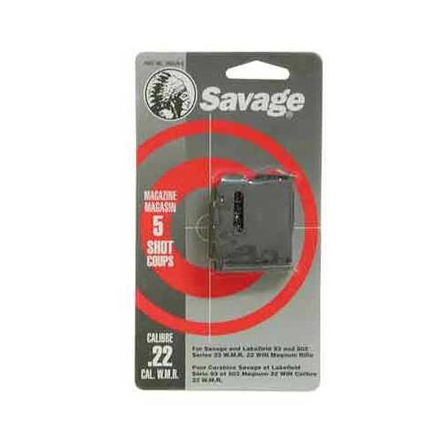 Savage Magazine 93 Series .22WMR/.17HMR 5-Rnd Blued