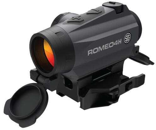 Sig Optics Red Dot Romeo 4H, 1 MOA Red Dot Ballistic CirclePlex Reticle, Graphite Md: SOR43012