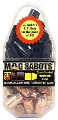 Thompson/Center Arms Mag Express Sabots With 30 XTP Bullets .50 Caliber Sabots W/ 44 Caliber .240 Grain Bullet Md: 8246