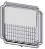GXL LED - Work Light Series Spot Lens Cover. Fits Model 4021 Work Light Only.