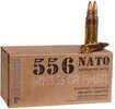 Fiocchi Ammo 5.56mm NATO, 55 Grains, Full Metal Jacket/Boat Tail (FMJ/BT), Per 50