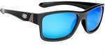 Strike King Lures Jordan Lee Pro Series Sunglasses Shinny Black Frame, Gray Lens