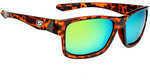 Strike King Lures Jordan Lee Pro Series Sunglasses Shinny Tortoiseshell Frame, Amber Lens
