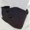 Blackhawk Holster Grip Break Black Leather Size 28 S&W M&P Left Hand