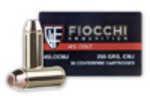 Fiocchi 45 Colt 225 Grain CMJ 50 Box 45LCCMJ