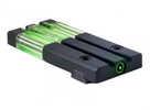 Model: Fiber Tritium Bullseye Finish/Color: Green Fit: Fits Glock 17, 19, 22, 23 Type: Sight Manufacturer: Meprolight Model: Fiber Tritium Bullseye Mfg Number: 0631013108ML63101G