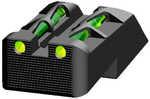 Model: Litewave Finish/Color: Green/Red/Black Fit: Springfield 1911 Type: Sight Manufacturer: Hi-Viz Model: Litewave Mfg Number: SF2109