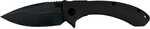 ABKT Elite Protector II Tech Folder, 3.5 inch closed length ball bearing pivot system liner lock, D2 black titanium coated blade and black contoured G10 handles.|0.34|5.25|2.0|0.75|Blade length: 3.50 ...