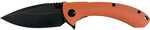 ABKT Elite Protector II Tech Folder, 3.5 inch closed length ball bearing pivot system liner lock, D2 black titanium coated blade and blaze orange contoured G10 handles.|0.32|5.25|2.0|0.75|Blade length...