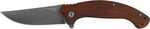 ABKT Elite Laramie Folder, 4.5 inch closed length liner lock with ball bearing pivot system, Satin finshed D2 blade, Sandlewood Handle with reversible deep pocket pocket clip.|0.28|5.25|2.0|0.75|Blade...