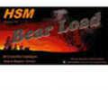 HSM Bear Ammo .454 Casull 325 Grain WFN Gas Check 20 Rounds